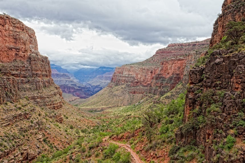 AZ-Grand Canyon- S Rim-Bright Angel Trail