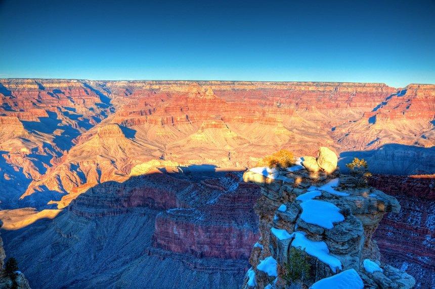 Grand Canyon South Rim Winter Shot