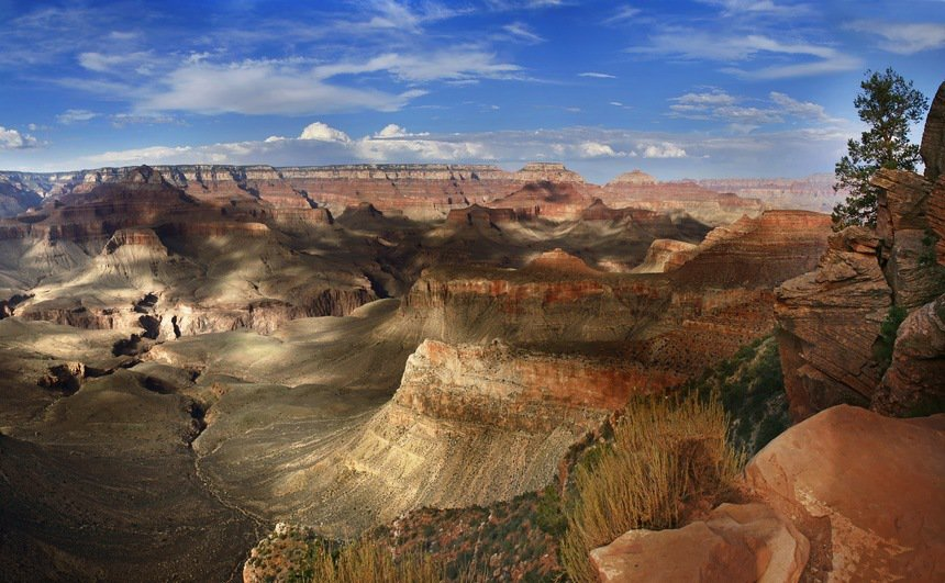 Grand Canyon National Park (South Rim), Arizona USA - Landscape
