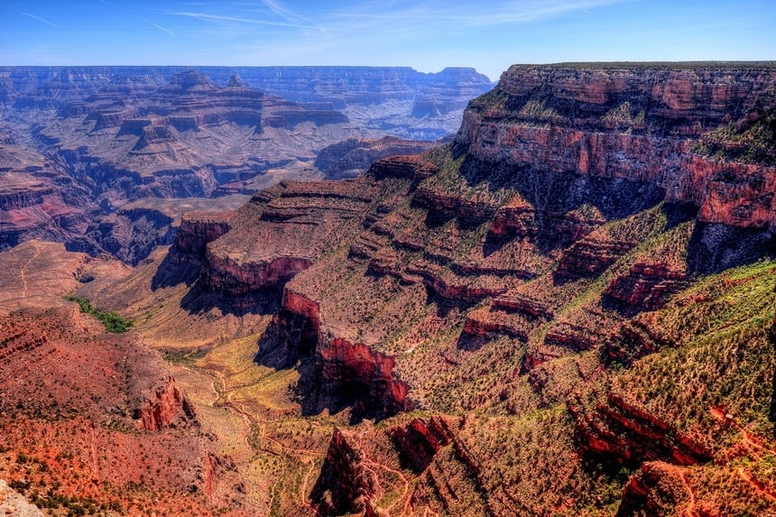 Afternoon in Grand Canyon Springtime