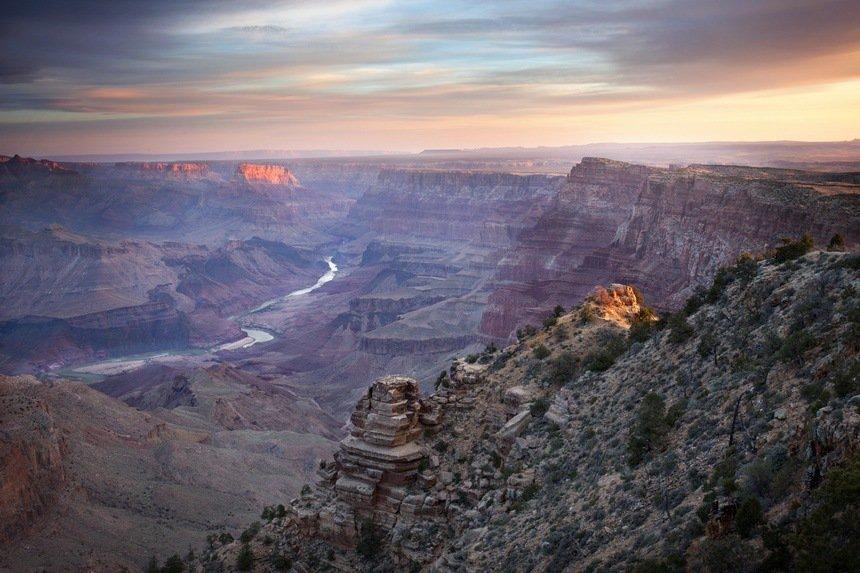 Sunrise at Desert View