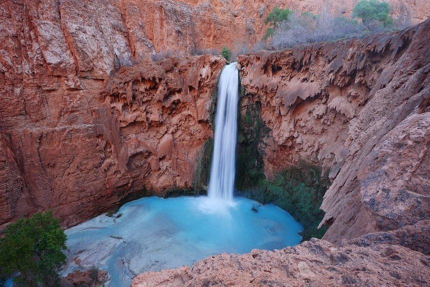 Havasu Falls Near Grand Canyon