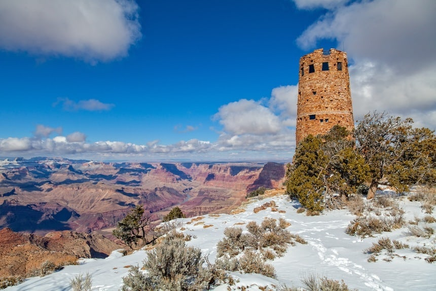 Desert View Watchtower Grand Canyon