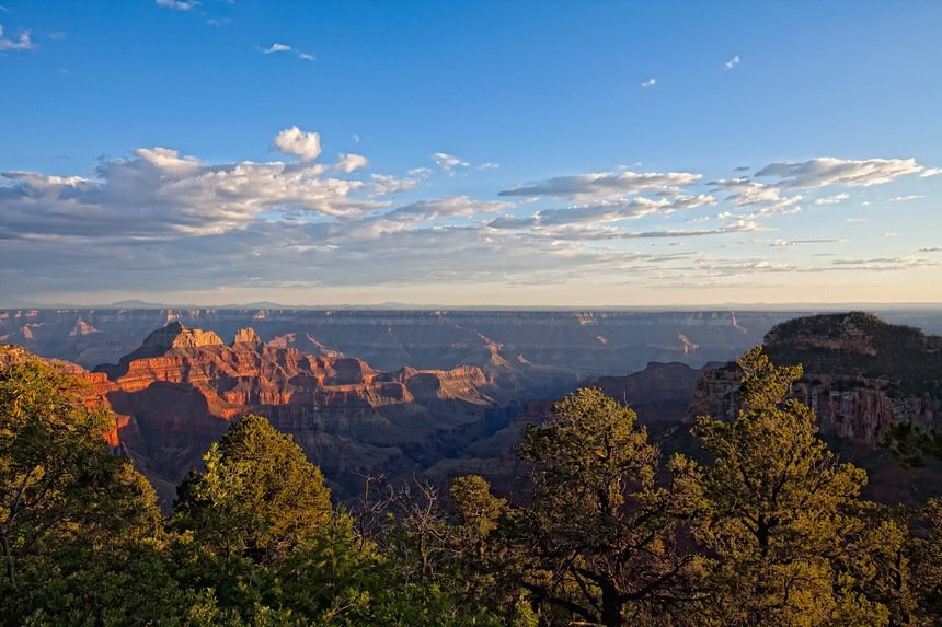 Sunset at Lodge North Rim Grand Canyon