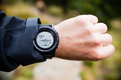 Walking a Trail with an Altimeter Watch