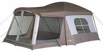 Wenzel Klondike 8 Person Tent with Two Room Divider