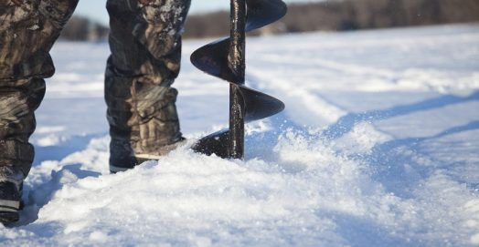 Best Ice Auger for Ice Fishing