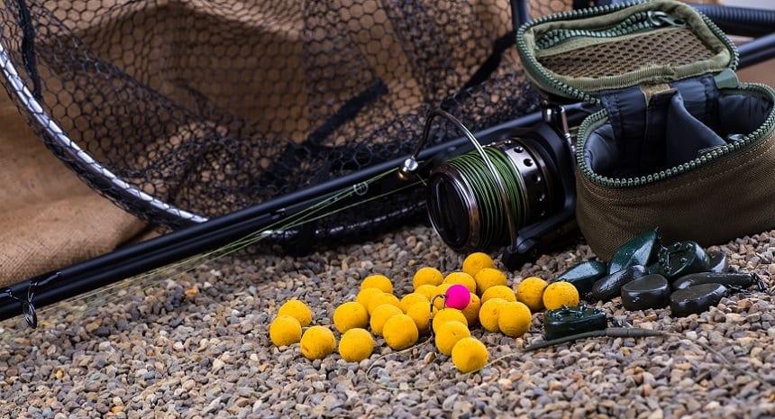 Boilies - Big Carp Fishing on River Banks