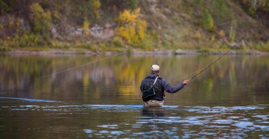 How To Fly Fish on a River, Lake or Stream