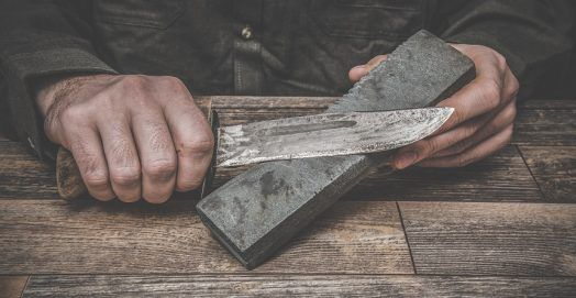 How to Sharpen a Knife Correctly