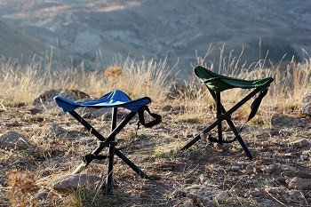 Camping Tri Pod Stool; best camping chair