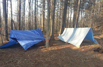 Shelter While Hiking or Backpacking