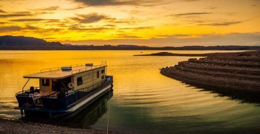 Fishing in Lake Mead Nevada