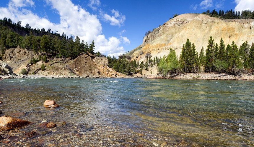 Yellowstone River Montana