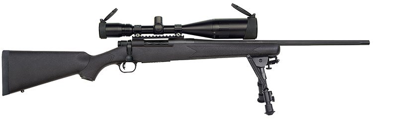 mossberg patriot bolt action rifles